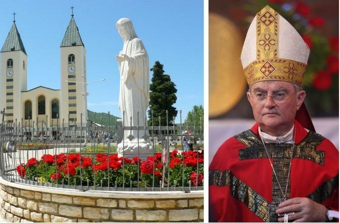 Mediugórie recebe arcebispo Hoser