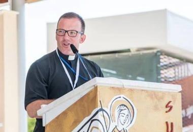 """Padre Martin Filipponi: """"Após o Festival dos Jovens, em Mediugórie, senti um rejuvenescer e alegria na fé que nunca havia experimentado antes""""."""