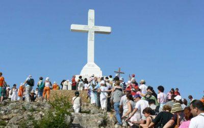 Festa da Exaltação da Santa Cruz em Mediugórie (Medjugorje)